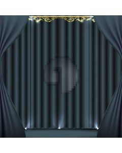 Stage Curtain Footlight Computer Printed Photography Backdrop ABD-036