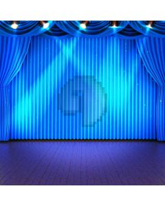 Stage Light Curtain Floor Computer Printed Photography Backdrop ABD-046