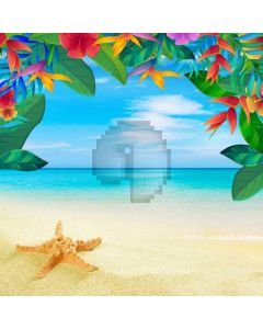 Sea Tree Computer Printed Photography Backdrop ABD-103