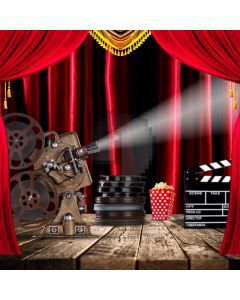 Movie Curtain Light Computer Printed Photography Backdrop ABD-215