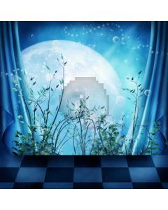 Moon Grass Curtain Computer Printed Photography Backdrop ABD-233