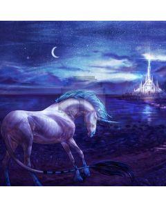 Horse Half Moon Sea Computer Printed Photography Backdrop ABD-326