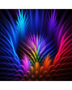 Plumage Colors Computer Printed Photography Backdrop ABD-365