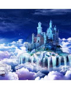 Castle Fall Computer Printed Photography Backdrop ABD-375