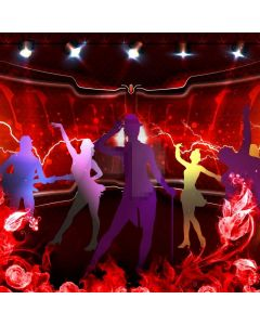 Stage Dancer Light Computer Printed Photography Backdrop ABD-390