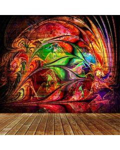Graffiti Colors Computer Printed Photography Backdrop ABD-435