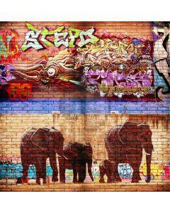 Graffiti Animal Computer Printed Photography Backdrop ABD-496
