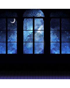 Moon Window Computer Printed Photography Backdrop ABD-500