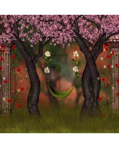 Flower Swing Plant Computer Printed Photography Backdrop ABD-529