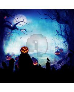 Halloween Pumpkin Dark Computer Printed Photography Backdrop ABD-569
