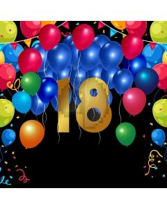 Anniversary Balloon Birthday Computer Printed Photography Backdrop ABD-575