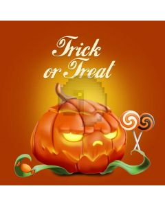 Trick And Treat Pumpkin Lantern Computer Printed Photography Backdrop ABD-582