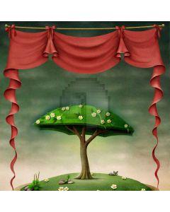 Tree Plant Cloth Computer Printed Photography Backdrop ABD-597
