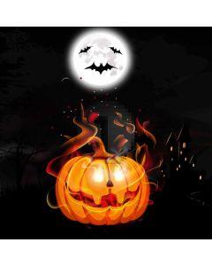 Halloween Full Moon Bats Computer Printed Photography Backdrop ABD-606