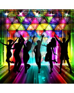 Stage Dancers Light Computer Printed Photography Backdrop ABD-621