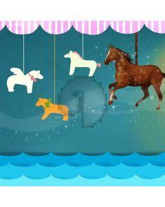 Cartoon Animal Star Computer Printed Photography Backdrop ABD-658