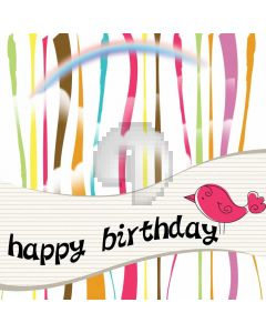 Stripe Colors Birthday Computer Printed Photography Backdrop ABD-691