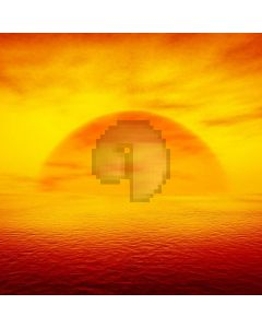 Sunrise Sea Light Computer Printed Photography Backdrop ABD-712