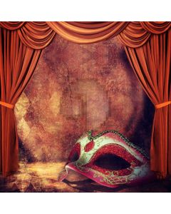 Disguise Mask Curtain Computer Printed Photography Backdrop ABD-720