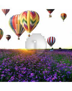 Lavender Balloon Computer Printed Photography Backdrop ABD-722