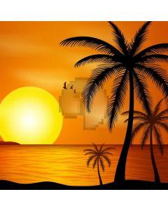 Sunset Palm Tree Sea Computer Printed Photography Backdrop ABD-732