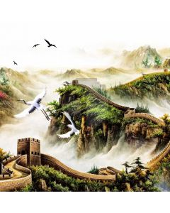 Crane The Great Wall Computer Printed Photography Backdrop ABD-736