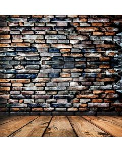 Brick Wall Floor Computer Printed Photography Backdrop ABD-767