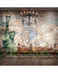 Graffiti Light Floor Computer Printed Photography Backdrop ABD-804