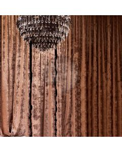 Brown Curtain Light Computer Printed Photography Backdrop ABD-811