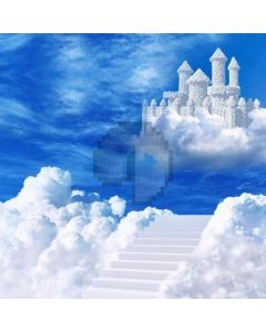 Cloud Strairs Sky Computer Printed Photography Backdrop ABD-822