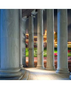 Strong Pillars Architecture Computer Printed Photography Backdrop ABD-868