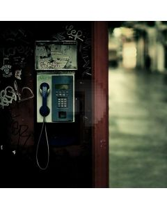 Phone Booth Computer Printed Photography Backdrop ABD-876