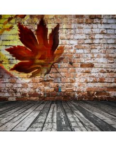 Maple Brick Floor Computer Printed Photography Backdrop ABD-882