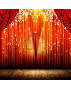 Stage Curtain Light Computer Printed Photography Backdrop ABD-917