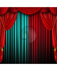 Stage Curtain Computer Printed Photography Backdrop ABD-926