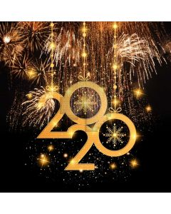 New Year 2020 Computer Printed Photography Backdrop ABD-950