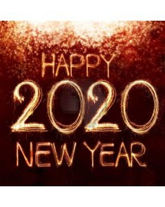 New Year Celebration 2020 Computer Printed Photography Backdrop ABD-951