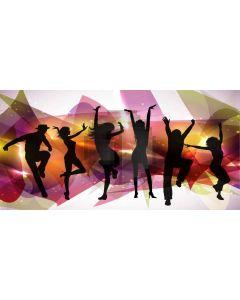 Light Joy People Computer Printed Dance Recital Scenic Backdrop ACP-1098