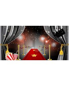 Pillar Curtain Light Computer Printed Dance Recital Scenic Backdrop ACP-1100