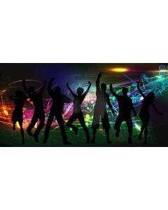 Light People Computer Printed Dance Recital Scenic Backdrop ACP-1116