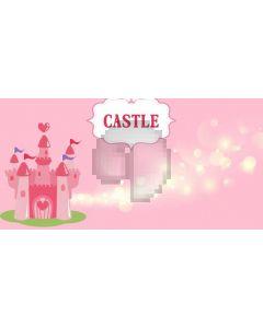 Castle Light Computer Printed Dance Recital Scenic Backdrop ACP-1131