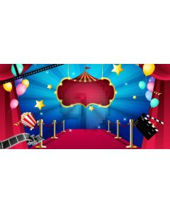 Stage Carpet Computer Printed Dance Recital Scenic Backdrop ACP-1143