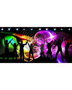 People Lights Computer Printed Dance Recital Scenic Backdrop ACP-1161