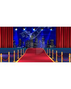 Building Carpet Pillar Night Film Computer Printed Dance Recital Scenic Backdrop ACP-1170