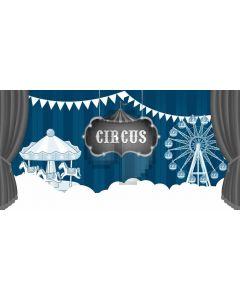 Circus Horse Computer Printed Dance Recital Scenic Backdrop ACP-1180