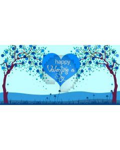 Tree Valentine's Day Computer Printed Dance Recital Scenic Backdrop ACP-1199