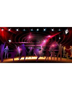 Stage Lights Computer Printed Dance Recital Scenic Backdrop ACP-1202