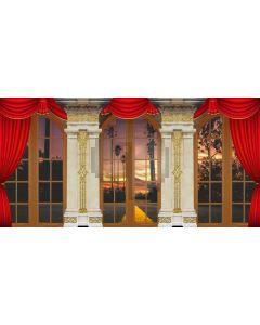 Pillar Window Door Computer Printed Dance Recital Scenic Backdrop ACP-1204
