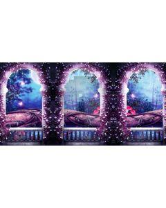 Door Color Computer Printed Dance Recital Scenic Backdrop ACP-1217