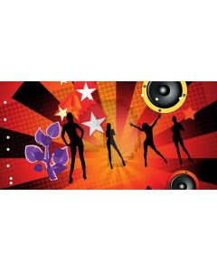 Stage People Computer Printed Dance Recital Scenic Backdrop ACP-1223
